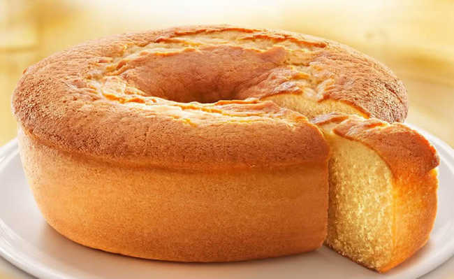 bolo de limão com casca