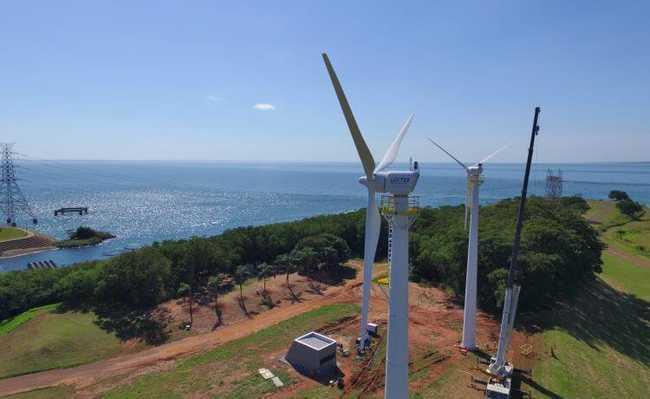 c90d04ad353 Primeiros geradores de energia eólica de São Paulo entram em funcionamento  definitivo