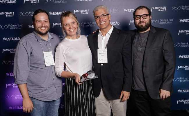 Prêmio ECO - equipe eCycle
