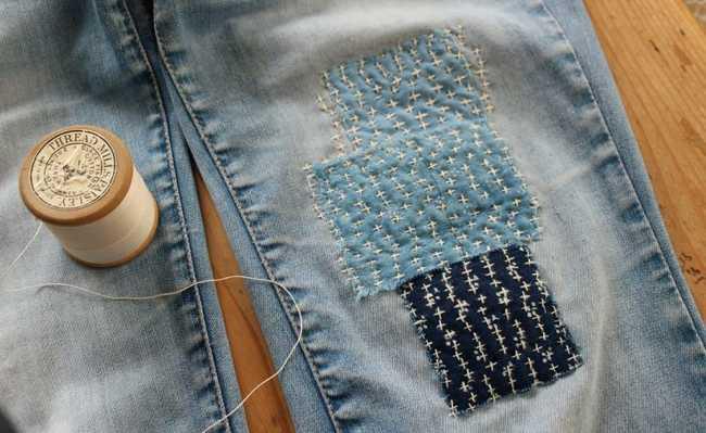 Boro e sashiko: técnicas japonesas de reparo de roupas