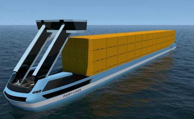 Primeiro cargueiro elétrico do mundo