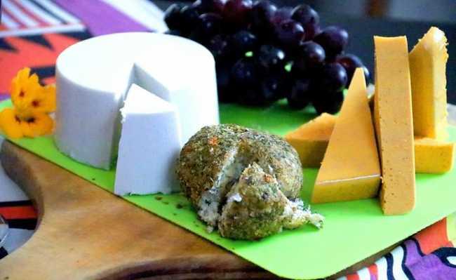 queijos e leites veganos