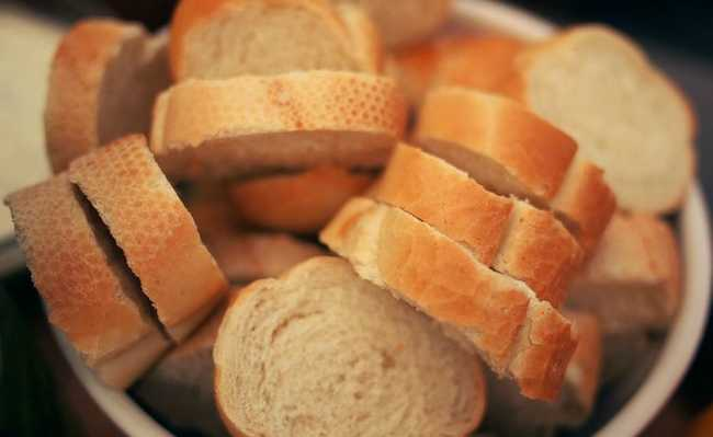 saco de pão mofado