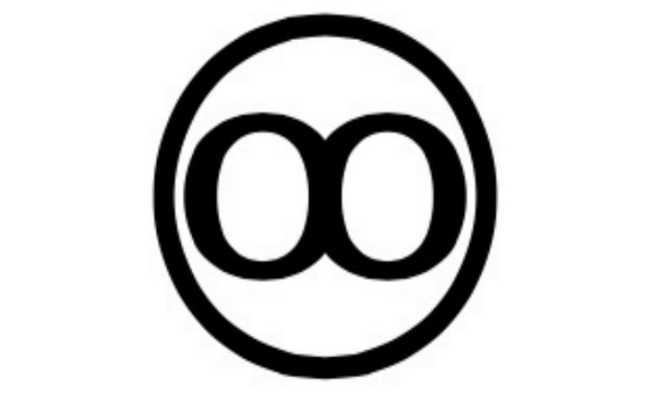 símbolo da reciclagem que indica que o papel é durável