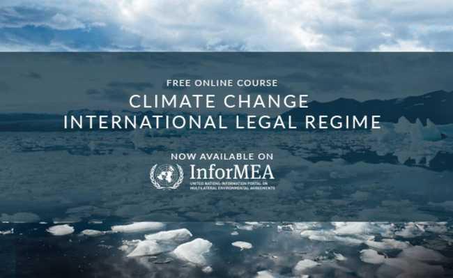 ONU oferece curso gratuito sobre regime jurídico internacional de mudança climática
