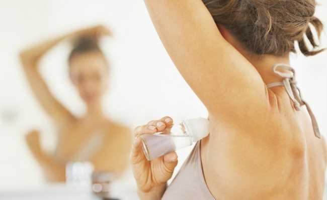 Desodorante sem alumínio - conheça opções