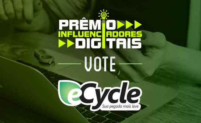 Portal eCycle é indicado ao Prêmio Influenciadores