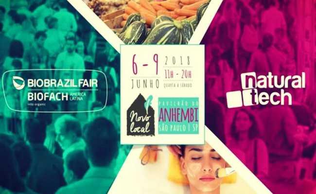 Naturaltech - Feira Internacional de Alimentação Saudável, Suplementos, Produtos Naturais e Saúde
