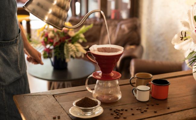 Café hario - opção fácil de como fazer café