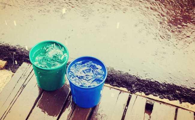 como armazenar água da chuva?