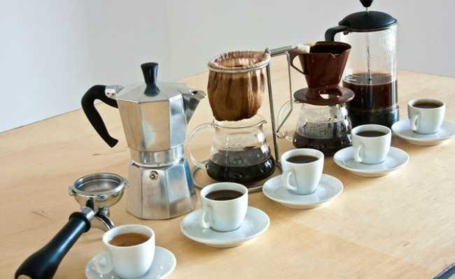 Métodos de extração do café