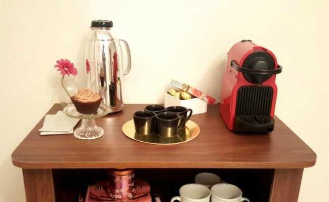 Máquina de café espresso em cápsulas