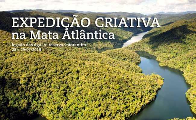 Expedição Criativa na Mata Atlântica: Legado das Águas - Reserva Votorantim