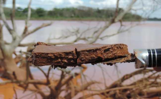 Lama tóxica da Samarco