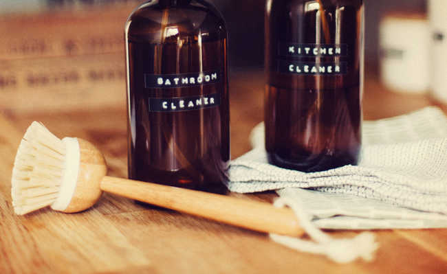 limpeza com vinagre