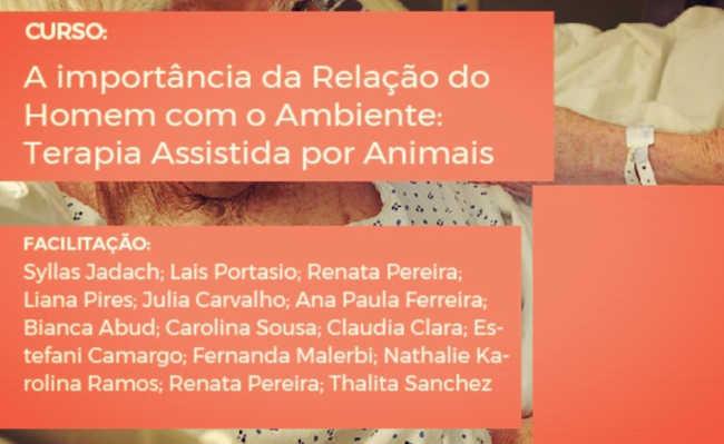 Curso de terapia assistida por animais