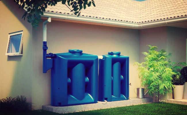 Cisterna de plástico