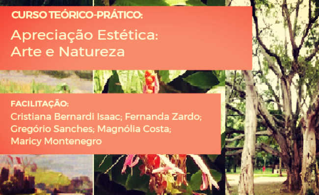 Curso teórico-prático de apreciação estética: arte e natureza
