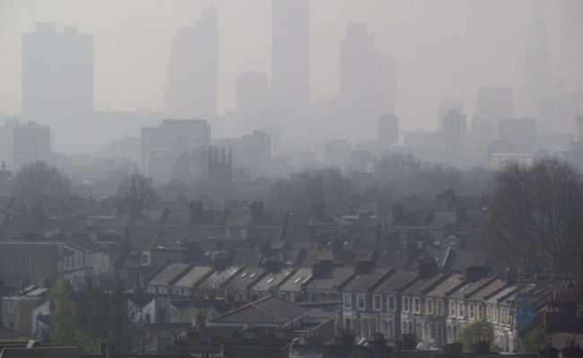 Poluição em Londres