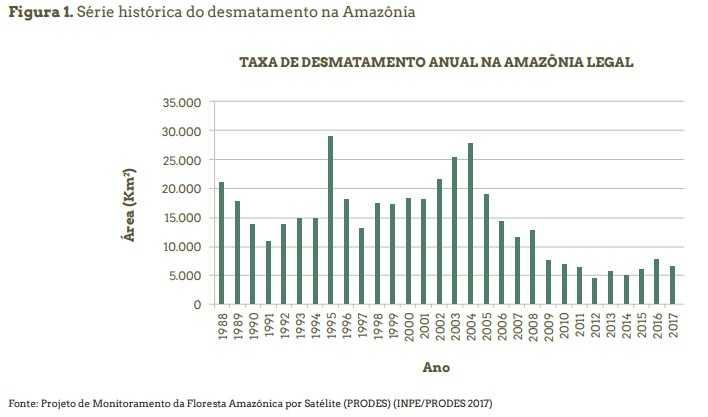 desmatamento da amazonia