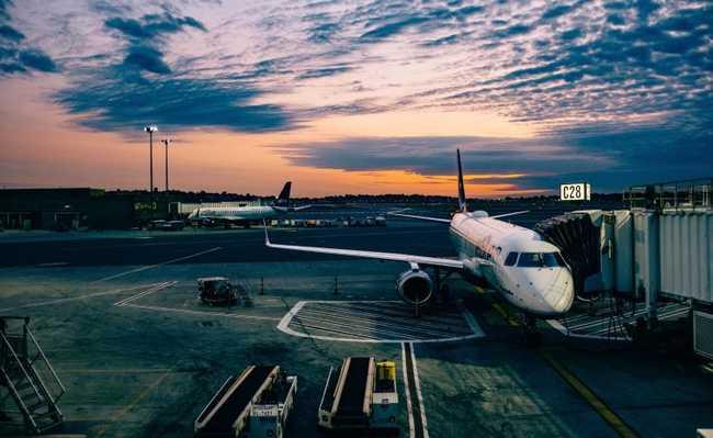 Impacto das viagens de avião