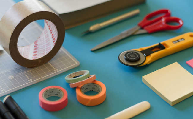 Instrumentos para artesanato