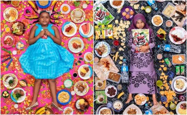 Crianças e seus alimentos