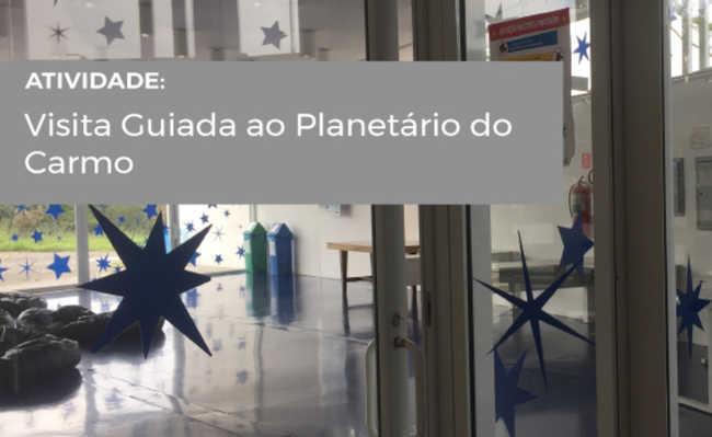 Visita aos bastidores do planetário