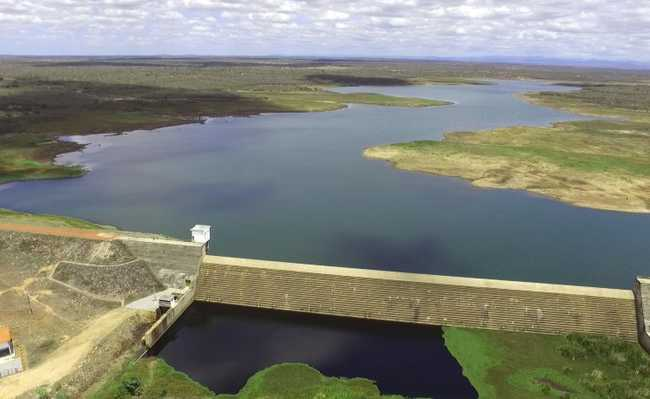 Barragem em Capim Grosso