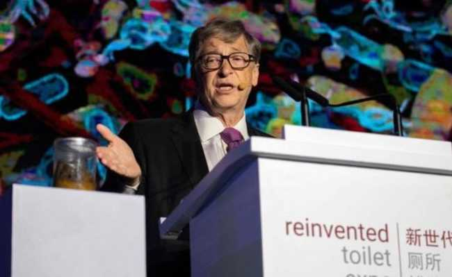 Bill Gates no evento