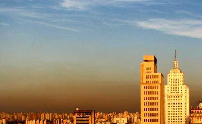 São Paulo poluída