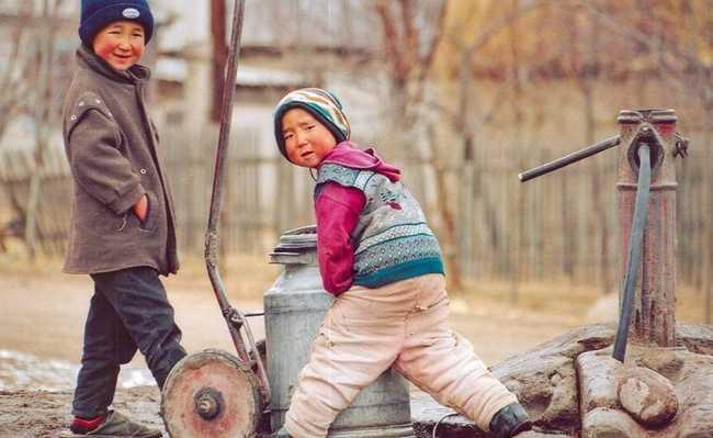 Crianças e poluição