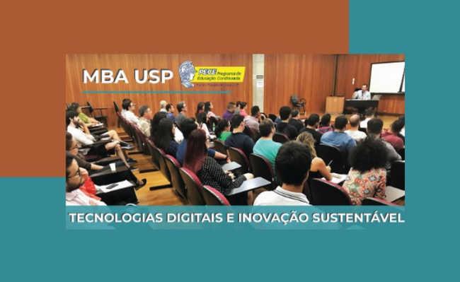 USP abre inscrição para MBA em Tecnologias Digitais e Inovação Sustentável