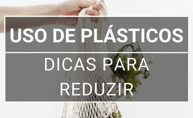 reduzir lixo plástico
