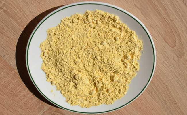 farinha de grao de bico
