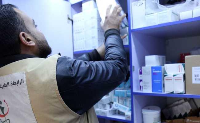 Lista de medicamento e diagnósticos