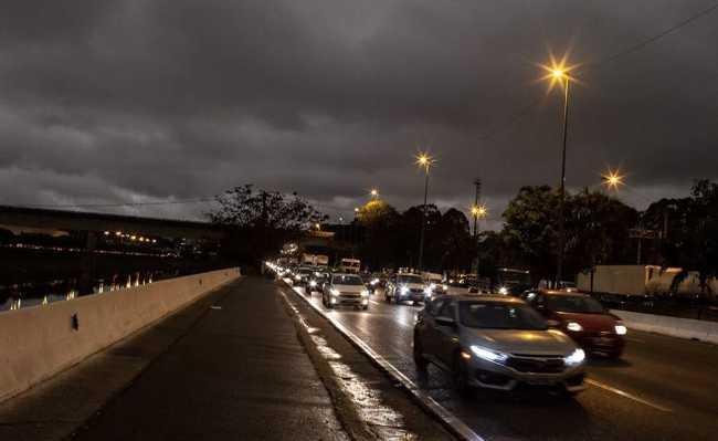 São Paulo - dia vira noite