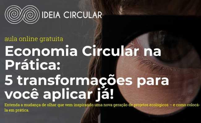 Aula on-line de Economia Circular