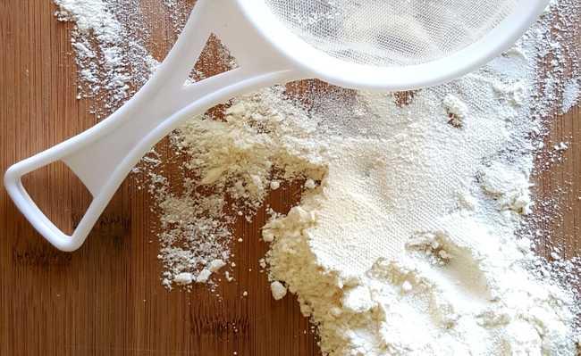 substituir amido de milho