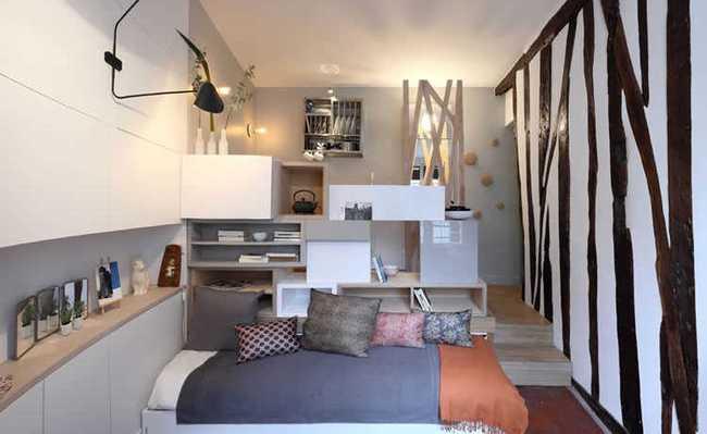 Pequeno apartamento em Paris