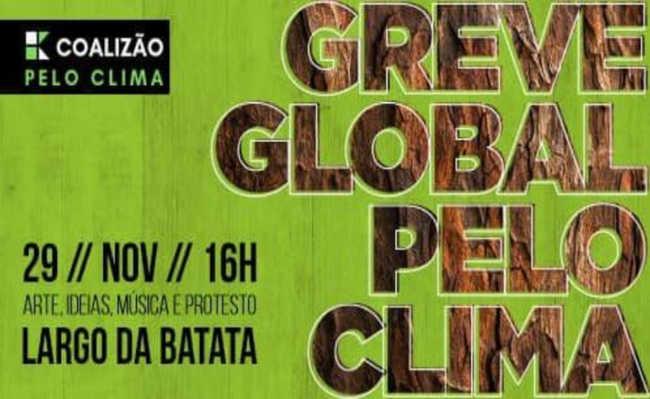 Greve global pelo clima