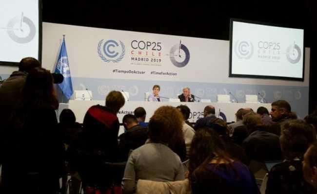O secretário-geral da ONU, António Guterres, e a secretária-executiva da UNFCCC, Patricia Espinosa