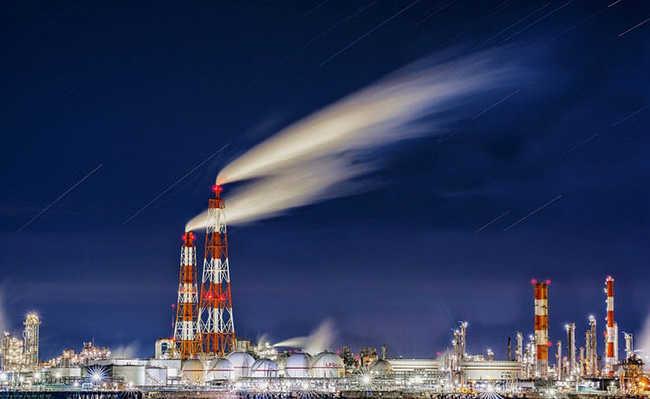Poluição de indústrias