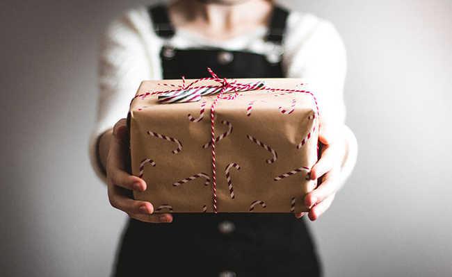 Embalagem para presentes