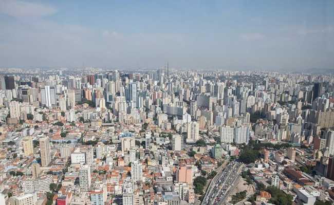 São Paulo vista aérea