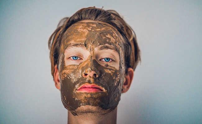 máscaras e cremes de hidratação