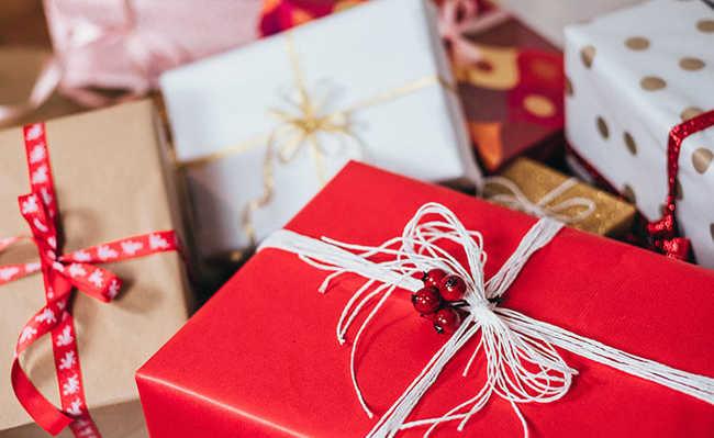 Embrulho para presentes