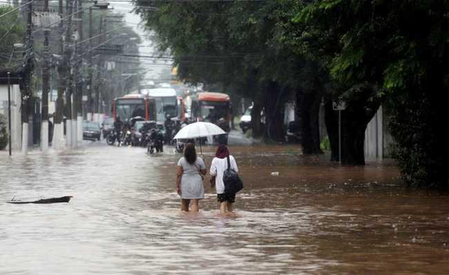 Enchente em SP