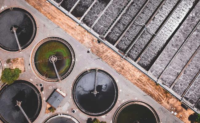 Lagoas de filtração