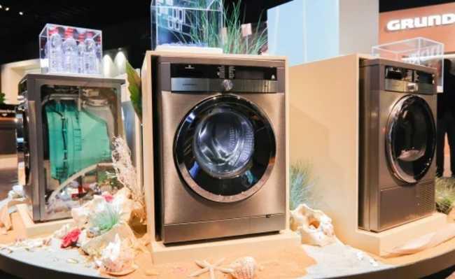 Máquina de lavar roupa da Arçelik